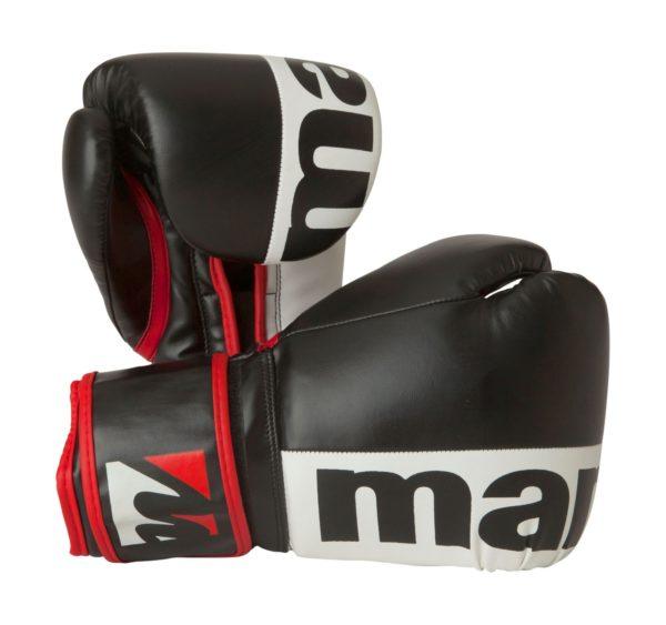 Manus Boxhandschuhe 2colour Schwarz-Weiß