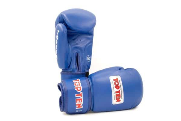 TOP TEN Boxhandschuhe AIBA Blau 10 Oz.