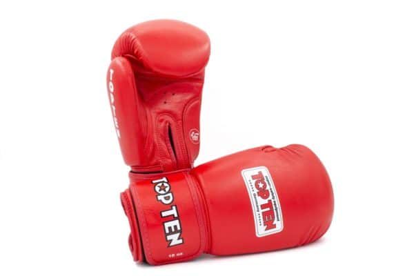 TOP TEN Boxhandschuhe AIBA Rot 10 Oz.