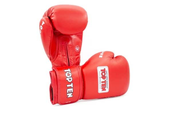 TOP TEN Boxhandschuhe AIBA Rot 12 Oz.