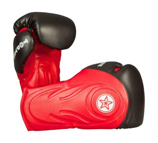 TOP TEN Boxhandschuhe Sparringhandschuhe Hero Rot-Schwarz