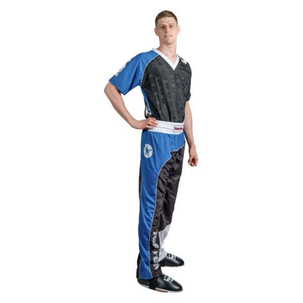TOP TEN Kickbox Uniform Bow Schwarz-Blau