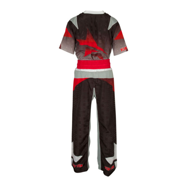 TOP TEN Kickbox Uniform Future Schwarz-Grau
