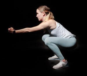 Home Workout Kniebeuge Squat Training Zuhause trainieren